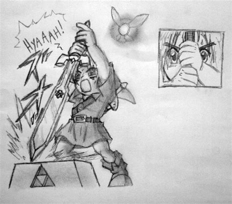 Pedestal Of Time Pulling The Master Sword From The Pedestal Of Time By