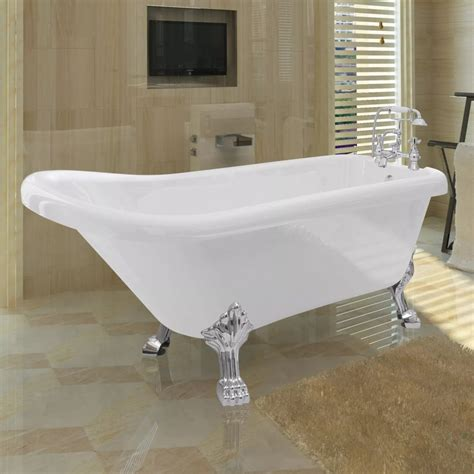 classic bathtubs vidaxl co uk freestanding classic bathtub with faucet