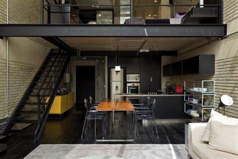 loft homes beautiful houses industrial loft in sao paulo
