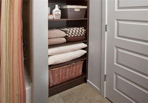Open Closet Shelves How To Keep Your Linen Closet Organized