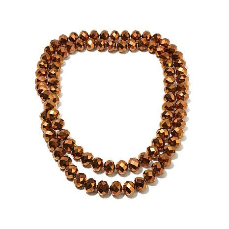 necklaces for women beaded necklaces jewelry hsn heidi daus quot ladies choice quot beaded 42 quot necklace 8228060 hsn