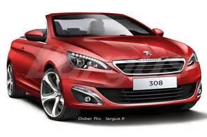 Peugeot Convertible 2014 Pepopolis 308 Cabriolet Llegar 237 A En 2015 Con Techo De Lona