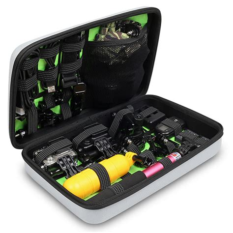 Gopro Xiaomi Travel bubm kotak tas organizer for gopro xiaomi yi sjcam egp l original black