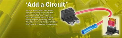 add a add a circuit products narva