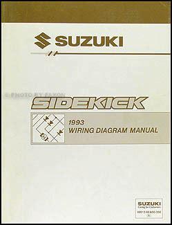 1994 1995 suzuki sidekick repair shop manual supplement original search