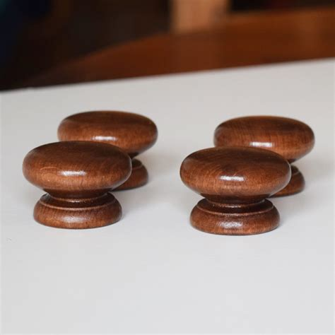 wooden knobs for kitchen cabinets 30 x door handles wooden cabinet knobs kitchen cupboard