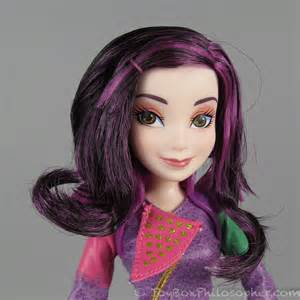 mal hair disney descendants quot signature mal quot doll by hasbro the