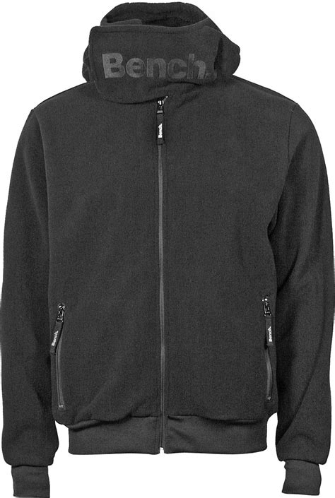 bench fleece bench core funnel fleece jacket black
