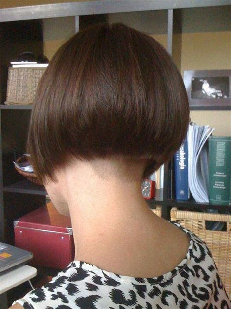 buzzed nape bob brown bob with buzzed nape napes to die for pinterest