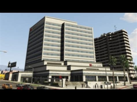 gta online: maze bank west office (tour) youtube