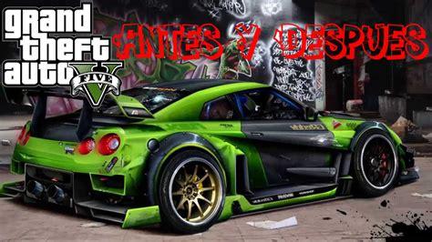 Gta 3 Auto Tuning by Antes Y Despues De Autos Tuneados Gta V Hd