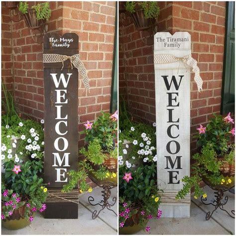 personalized  sign  front door front door