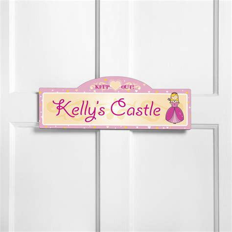 childrens room personalized custom plaque wood sign
