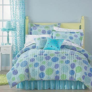 jcpenney girls bedding polka dot swirl comforter jcpenney girls bedroom