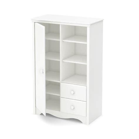 White Baby Armoire south shore heavenly armoire with drawers white baby baby furniture nursery dressers