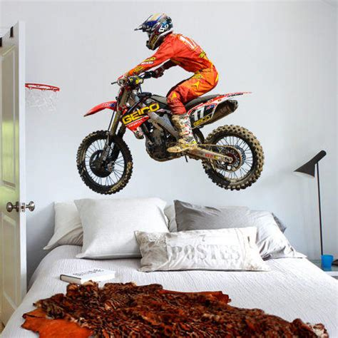 where to buy motocross full color wall decal sticker dirt bike from 757hotkiska7