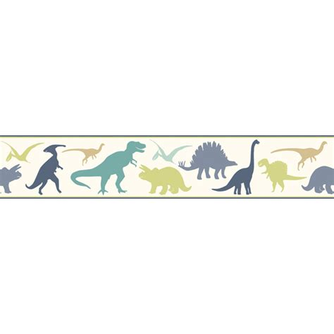 Dinosaurs Murals Walls byr94301b red dinosaur toss border dino mighties boy s