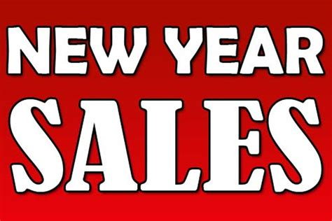 new year by the sales new year sales