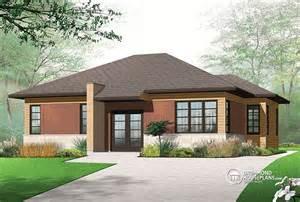 modern bungalow drummond house plans blog front elevation modern house modern architecture
