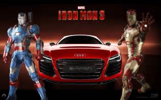 Audi In Iron Iron 3 Tony Stark Guida Una Audi Cinema