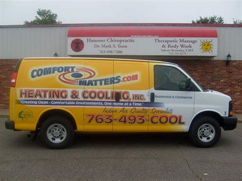 comfort matters comfort matters heating cooling inc hanover mn 55341