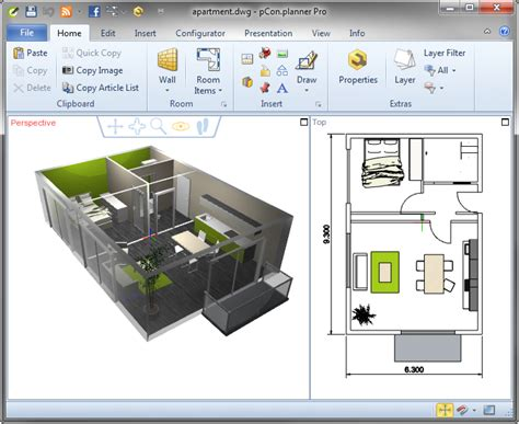 pcon planner 7 0 3d room planning tool free version 2015 free software