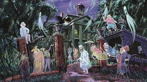 Backyard Gifts by Wallpaper Haunted Mansion Disneyland Front Gates