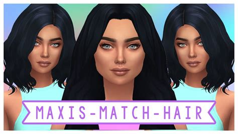 sims 4 maxis match cc hair the sims 4 maxis match cc hair haul full cc list