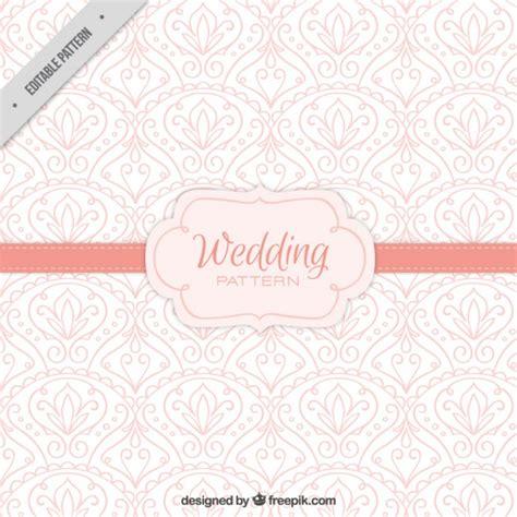 freepik wedding pattern pink wedding pattern with hand drawn details vector free