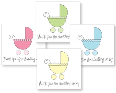Printable Thank You Tags For Baby Shower Favors by Baby Shower Favor Tag Printables Cutestbabyshowers