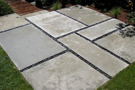 Large Concrete Pavers For Patio 2 Modern Landscape San Francisco By Shambhala Landscape General Construction