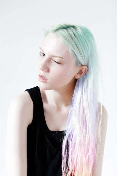 pastel hair colors for women in their 30s 2014 hot ombre highlights trend 30 rainbow colored