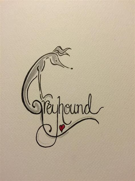greyhound tattoos designs 166 best greyt tats images on greyhound