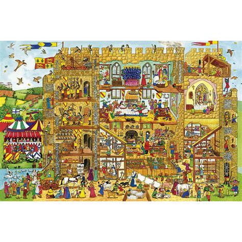 Sale Puzzle Edukasi Alphabet Road 2 castle wooden floor puzzle 24 castle wooden floor puzzle 24