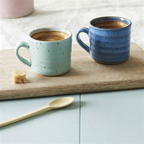 Handmade Espresso - handmade espresso mug by emily doran pottery