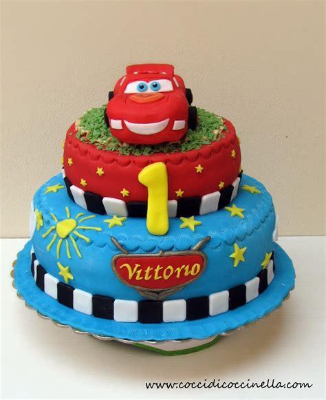 torta di cars torta cars cocci di coccinella