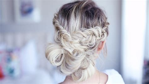 Hairstyles For Homecoming by Fancy Fishtail Updo Homecoming Hairstyle