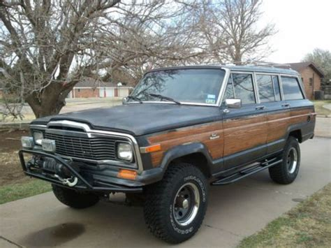 Jeep Grand 1985 Purchase Used 1985 Jeep Grand Wagoneer Base Sport Utility