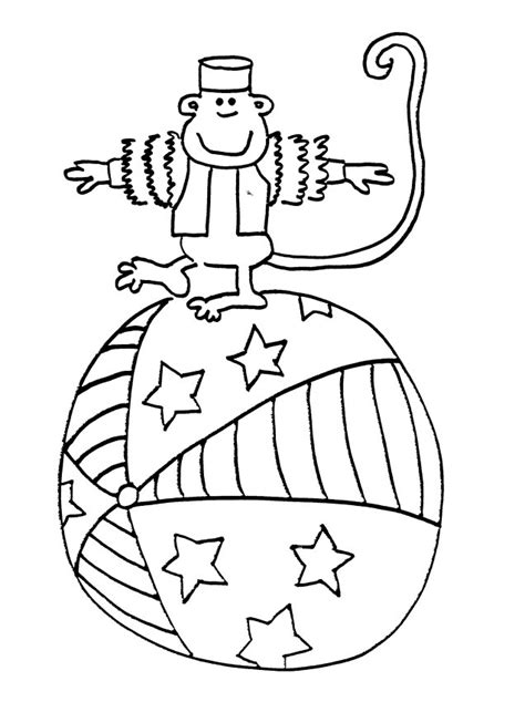 circus monkey coloring pages circus coloring sheets janice s daycare