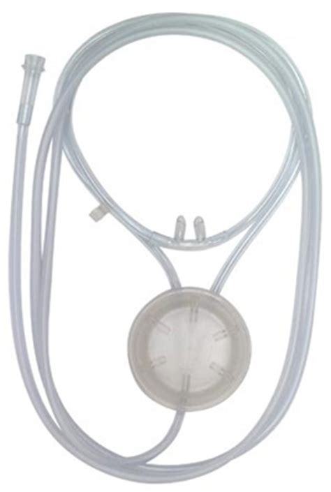 oxysaver oxygen conserving cannula with pendant