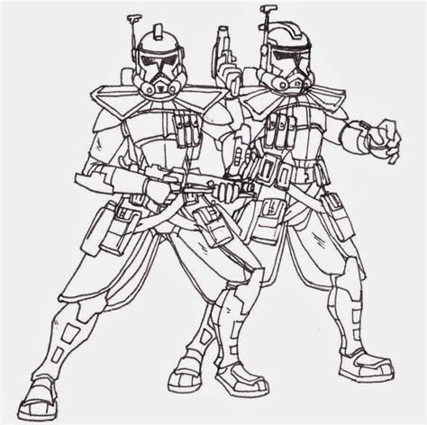 pages wars wars clone trooper coloring pages coloring home