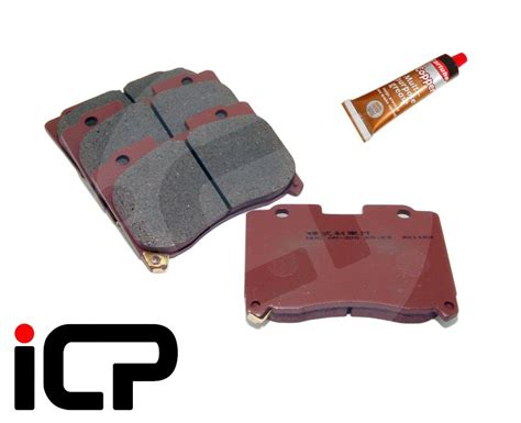 Product Disc Pad Refer Supra X toyota supra 3 0 jza80 front brake pads copper grease