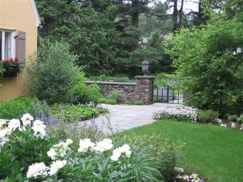 Mediterranean Home Colors Exterior - stacked stone wall landscape mediterranean with none beeyoutifullife com