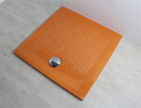 piatto doccia filo piatto doccia filo 90x90 arancio