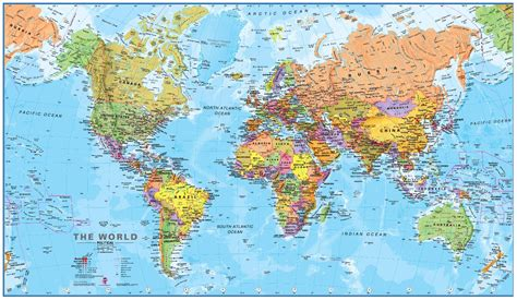 world map poster maps international travel mapping blog
