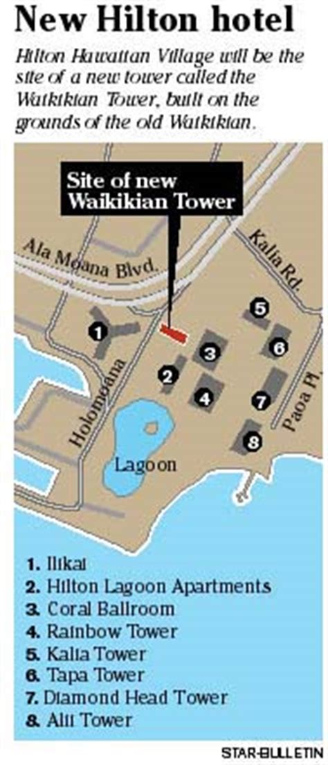 hilton hawaiian village lagoon tower floor plan honolulu star bulletin hawaii news