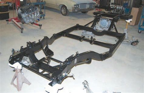 Cadillac On Corvette Chassis by C3 Corvette Aftermarket Chassis Installation Chevy Diy