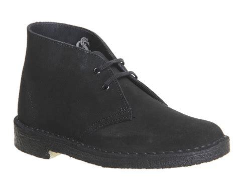 clarks originals black suede desert womens clarks originals desert boots black suede boots ebay