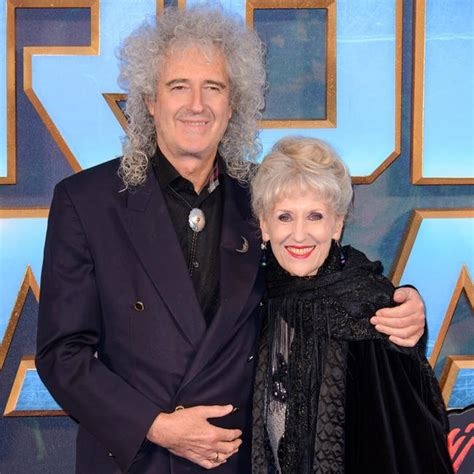 brian may family brian may and anita dobson are adorable