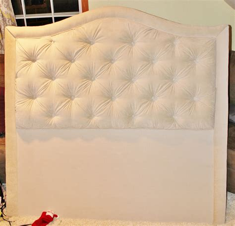 easy tufted headboard hipholstery diy easy tufted headboard